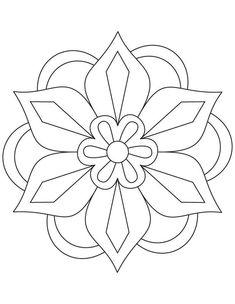 Simple Mandala Flower Coloring Pages. 30 Simple Mandala Flower Coloring Pages. Easy Flower Mandala Coloring Pages at Getdrawings Pattern Coloring Pages, Flower Coloring Pages, Mandala Coloring Pages, Colouring Pages, Simple Coloring Pages, Coloring Sheets, Adult Coloring, Coloring Books, Free Coloring