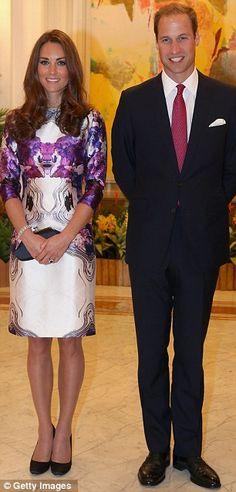Happy couple: Catherine, Duchess of Cambridge, and Prince William, Duke of Cambridge