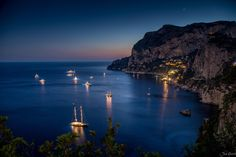 Capri Night by Jan Geerk - Photo 134171965 - 500px