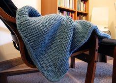 elizabeth zimmerman square baby blanket