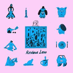 Anxious Love by Adrian Teacher and the Subs, released 09 May 2018 Hello Everyone Anxious Love Modern Art Slogging Away He Found Beauty and Goodness Everywhere and in Everyone Pop Medicine Cruis'n USA So Choked Can't Fight Love Album Of The Year, Anxious, Hello Everyone, Albums, Track, Teacher, Love, Amor, Professor