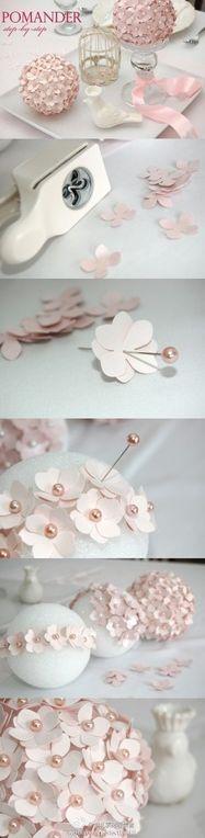 perfect pink pomanders