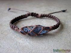 Tanzine aura quartz bracelet, raw crystal bracelet, new age jewelry, healing crystal jewelry, healing bracelet
