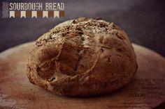 Sourdough bread, recipe here: https://www.facebook.com/photo.php?fbid=576194855774527&set=a.405384189522262.97578.123763421017675&type=1&theater