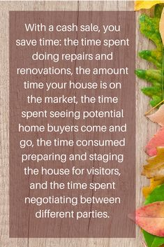 Now is the time to get your house finally sold! Call us at 516-802-3785. #WeBuyHousesCashLongIslandNY #RenePerrin