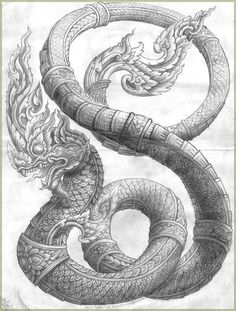 The nagas are an ancient race of semi divine serpent creatures beings. Though the Nagas were often dangerous to men if attacked or insulted, they were peaceable enough, using their deadly venom to only slay those found guilty of grave sins as well as others pre-destined to die an untimely death. True danger lay in incurring their wrath by refusing to offer them the proper obeisances owed to these granters of the vital rain.