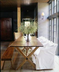 Rustic + Elegant Dining