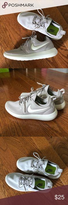 76062e27f Nike Roshe Two (Women's) Light Iron Ore/White Nike Roshe Two in size