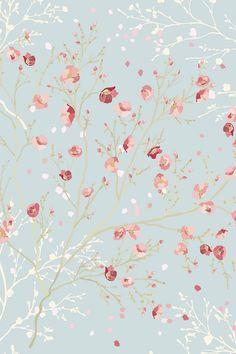 Wallpaper Laptop Floral Iphone 6 51 New Ideas Cute Wallpaper Backgrounds, Wallpaper Iphone Cute, Cellphone Wallpaper, Flower Wallpaper, Iphone Wallpapers, Pattern Wallpaper, Cute Wallpapers, Floral Wallpaper Phone, Painting Wallpaper
