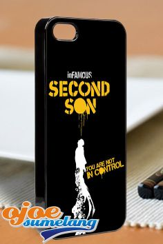 Infomous second son  iPhone 4/4s/5 Case  Samsung by ojoesumelang, $13.55