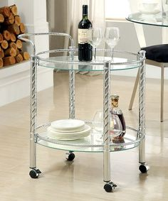 Look at this #zulilyfind! Alvas Contemporary Bar Cart #zulilyfinds