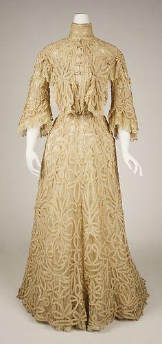 Dress - Dress Date: 1897 Culture: American Medium: [no medium available] Dimensions: [no dimensions available] Credit Line: Gift of Miss Dorothea Davidson, 1943