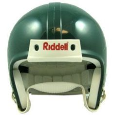 Riddell VSR4 Blank Mini Football Helmet Shell - Forest Green
