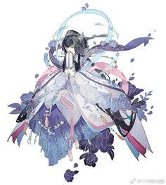 Read Fanart game: Miracle Nikki/Ngôi sao th�i trang from the story [SƯU TẦM] Anime Art by Convalaria (Linh Lan) with 802 reads. Anime Chibi, Manga Anime, Anime Kimono, Fantasy Character Design, Character Concept, Character Inspiration, Character Art, Anime Art Girl, Manga Art