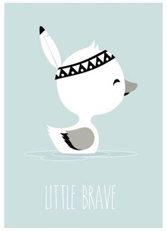 Little Brave - Baby Wall Art, Nursery Wall Decals, Nursery Prints, Nursery Art, Cat Pattern Wallpaper, Fancy Fonts, Illustrations, Cute Illustration, Baby Decor