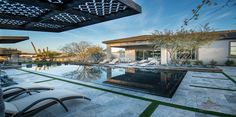 shade structure creative environments  in AZ Model Home