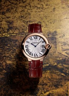 From the polished rose-gold casing to the iconic design of the crown, this is the watch you want to be buried in (if your heirs don't get it first). Rose-gold Ballon Bleu de Cartier watch ($19,200) by Cartier - Esquire.com