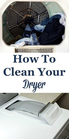 Here are tips for how to clean your dryer, including when common laundry disasters occur as well as how to clean your lint trap and dryer vent. #ad