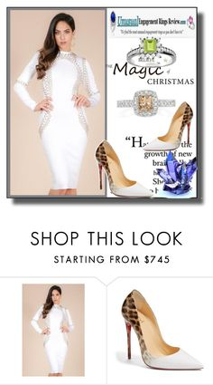 """""""Unusual Engagement Rings Review 8"""" by ramiza-rotic ❤ liked on Polyvore featuring GET LOST and Christian Louboutin"""
