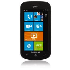 Samsung Focus with Windows. If she's not on the Apple bandwagon, she'll love this sleek, lightweight do-it-all phone. Easy to snap photos and see all of your contacts (facebook/email/numbers) at once. $50 with 2-year contract.