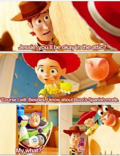 Haha! Toy Story <3