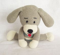 Awesome crochet amigurumi dog
