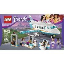 Lego Friends 41100 El Jet Privado De Heartlake 230 Pzs