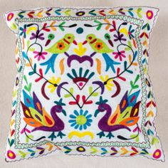 Floral pattern Indian cushion covers - Vana | eBay