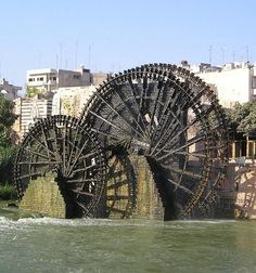 The largest norias / waterwheels in the world