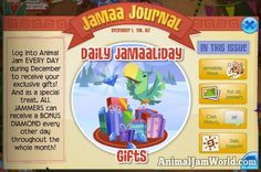The Jamaalidays are Here! animal-jam-jamaaliday_gifts-2016  #AnimalJam #News http://www.animaljamworld.com/the-jamaalidays-are-here/