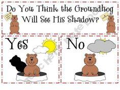 Groundhog Day graph freebie