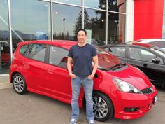 Congratulations Justin. Enjoy your new Fit.