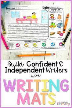 Writing Mats: The Perfect Writing Prompts for Kids – Proud to be Primary