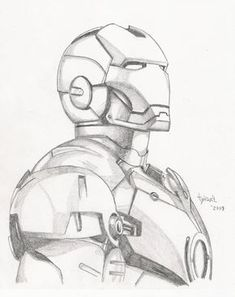 Iron Man sketch by TyndallsQuest.dev… on Iron Man sketch by TyndallsQuest. Superhero Sketches, Cartoon Sketches, Art Drawings Sketches, Disney Drawings, Cool Drawings, Hard Drawings, Drawing Cartoon Characters, Realistic Drawings, Pencil Drawings