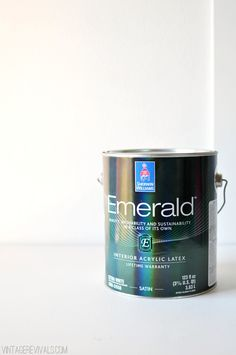 Sherwin Williams Emerald Paint vintagerevivals.com/ My go to paint for anything wall related is Sherwin Williams Emerald.......