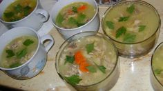 Piftie de gaina Romanian Food, Guacamole, Good Food, Pudding, Meat, Chicken, Ethnic Recipes, Desserts, Traditional