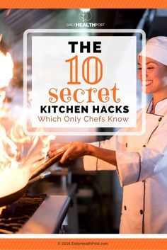 As you spend more time in the kitchen, you develop little tricks that make your life easier, right? Then you can imagine how many tricks someone like Gordon Ramsey or Wolfgang Puck might have up their sleeve.