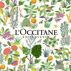 I was asked to do a packaging design for L'Occitane's Garden en Provence collection. The prompt included designing the outside of the box as well as the trim around the edges.