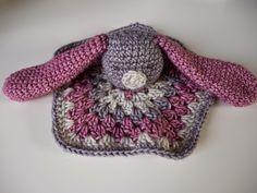 Renske Creatief: Gratis #haken, patroon, konijnenknuffeldoekje, Nederlands, baby, tuttel