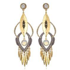 Sequin Tulum Chandelier Earrings aoeQ7
