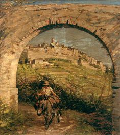 The Aqueduct - Henry Herbert La Thangue
