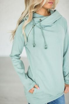 DoubleHood™ Sweatshirt - Seascape. Can't wait for it to be back in Stock