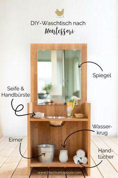 DIY Anleitung Für Einen Montessori Waschtisch