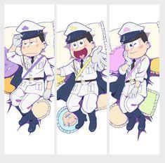 『おそ松さん』の描き下ろし養い抱きまくらカバーの絵柄が先行公開!https://twitter.com/emuzu100/status/788898891605286912軍服姿と寝姿の6つ子が登場!軍服姿の6つ子twitter.comt…