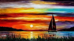 landscape paintings acrylic - Google Search