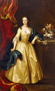 LADY ANNE COVENTRY by Michael Dahl 1659?-1743 in the hall