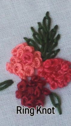 how to do brazilian embroidery stitches Hand Embroidery Videos, Embroidery Stitches Tutorial, Embroidery Flowers Pattern, Sewing Stitches, Hand Embroidery Designs, Embroidery Techniques, Hand Work Embroidery, Embroidered Flowers, Brazilian Embroidery Stitches