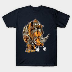 Grunge Steampunk Rhinoceros - Rhino - T-Shirt | TeePublic.  Handsome grunge steampunk rhino with mechanical gears looking very retro and vintage. Great design for the rhino lovers who want a rhinoceros to look a bit different. Mechanical Gears, Rhinoceros, Victorian Gothic, Grunge, Steampunk, That Look, Retro, Handsome, Lovers