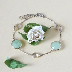 Серебряный браслет с кварцами и жадеитами.  #kazkajewelry #ювелирныеукрашения #ювелирныеизделия #kazka