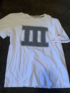 68ea57dc1 Jordan Cement 3 Shirt #fashion #clothing #shoes #accessories #mensclothing # shirts (ebay link)